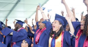 2019 Graduates Cheering