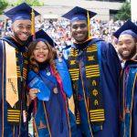 2019 Graduates smiling