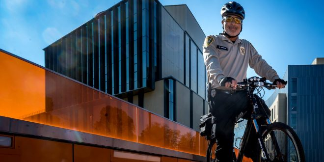 Bike Patrol Becomes Community Engagement for MSU Police Officer