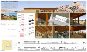 Joshua Tree National Park design for a visitor center