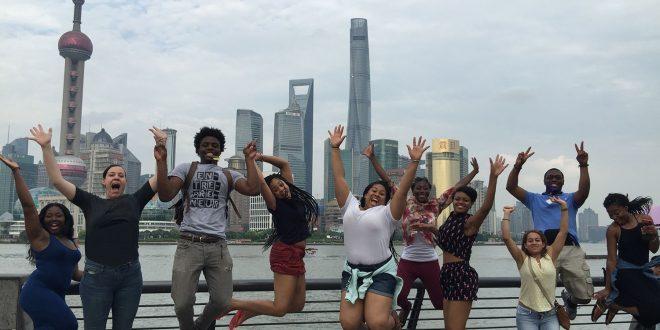 Shanghai Skyline - Leaving China With One Last Hoorah!