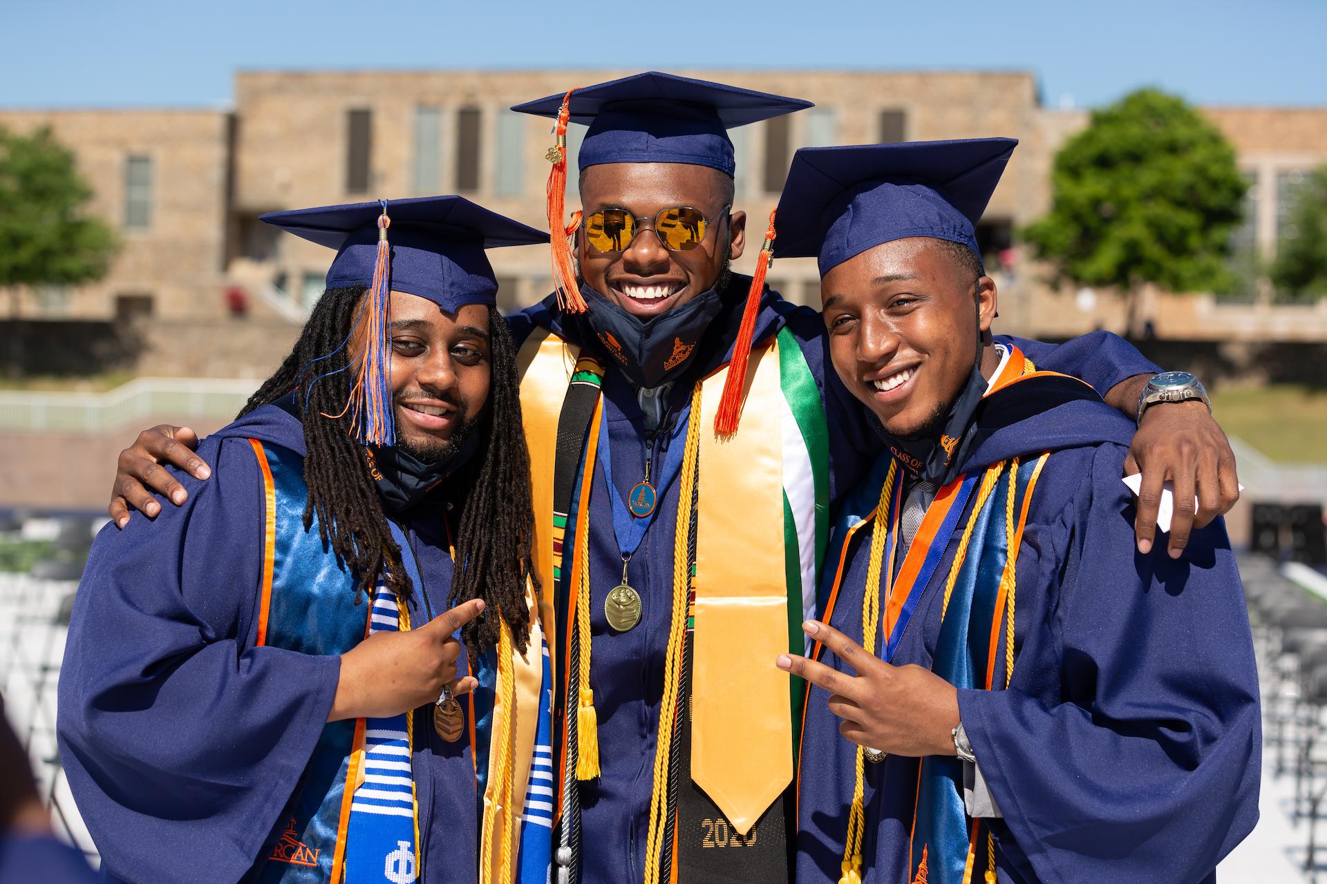 3 morgan graduates