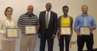 Transportation Internship Program Students