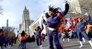 Morgan's Marching Band Lights Up Macy's Thanksgiving Day Parade