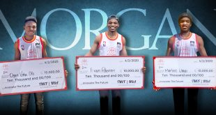 Morgan Students Triumph in the NBA 'Innovate the Future' Business Competition