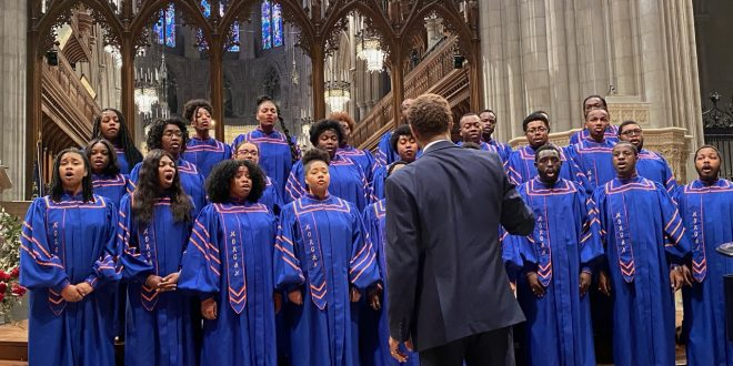 MSU Choir Performs at Washington National Cathedral