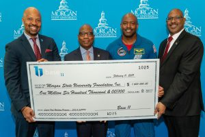 Base 11 grant check presentation