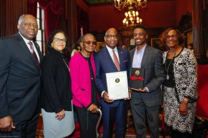 President David Wilson Receives Maryland Senate's 2018 First Citizen Award