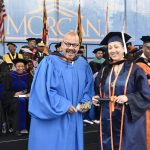 Tom Joyner with Graduate
