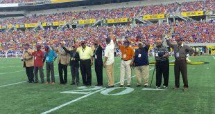1966 Golden Bears Honored