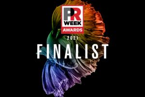 PR Week finalist graphic