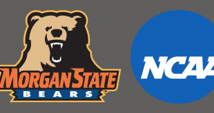 logos of NCAA and Morgan State Bears