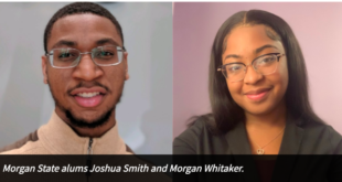 Joshua Smith and Morgan Whitaker