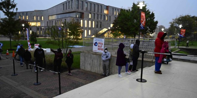 Morgan State University Cancels All Classes Scheduled for Nov. 3, Allowing Opportunity for Students and Faculty to Participate in Election Day Voting