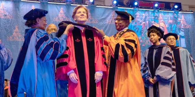 Student Achievement and Political Activism Highlighted Morgan's Sixth December Commencement