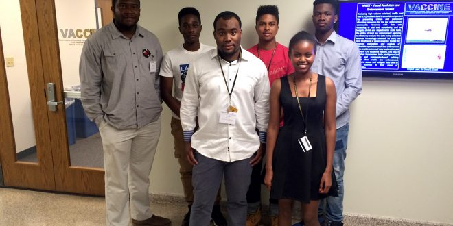 Six students from Morgan State University (MSU) recently completed a week-long summer research program at VACCINE from July 19th-25th
