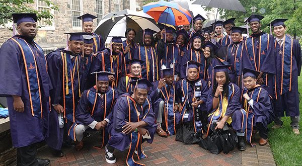 Morgan's 142nd Spring Commencement Shined Through the Rain