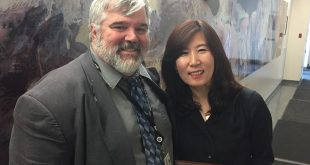 photo of Daniel Laughlin and Hyokyung Lee
