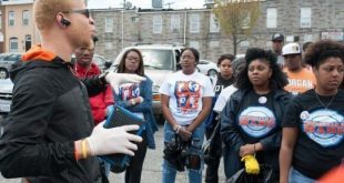Students from Morgan State take to the streets of Baltimore to clean up after the riots...with no media coverage.