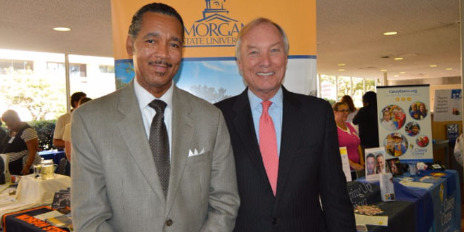 photo of Development Associate, Lawrence Manning and Maryland Comptroller, Peter Franchot