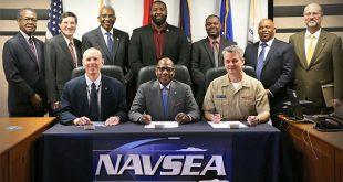 MSU NAVSEA Signing