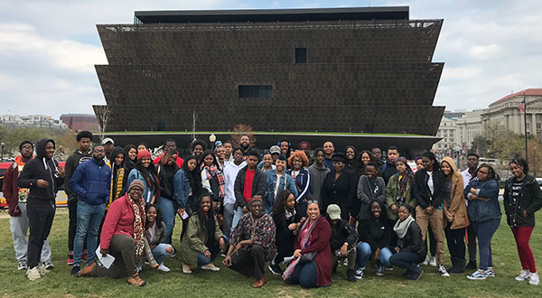 Morgan Students Take Experiential Learning Excursion To Nmaahc
