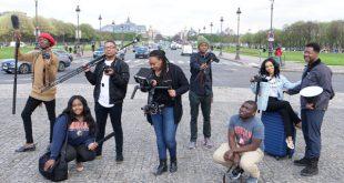 SGJC Students in Paris