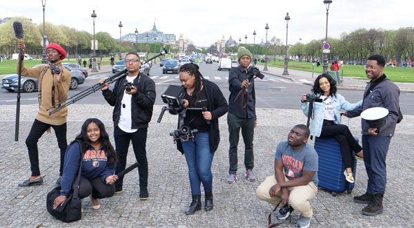 SGJC Students in Paris