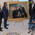 Philanthropists Calvin and Tina Tyler Donate Commissioned Artwork to Tyler Hall