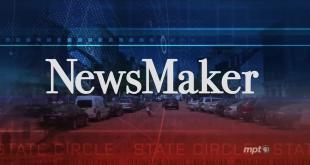 MPT's NewsMaker title slate